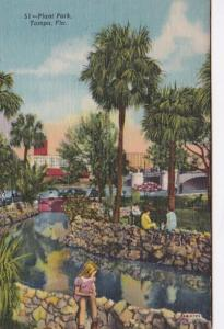 Florida Tampa Plant Park Curteich