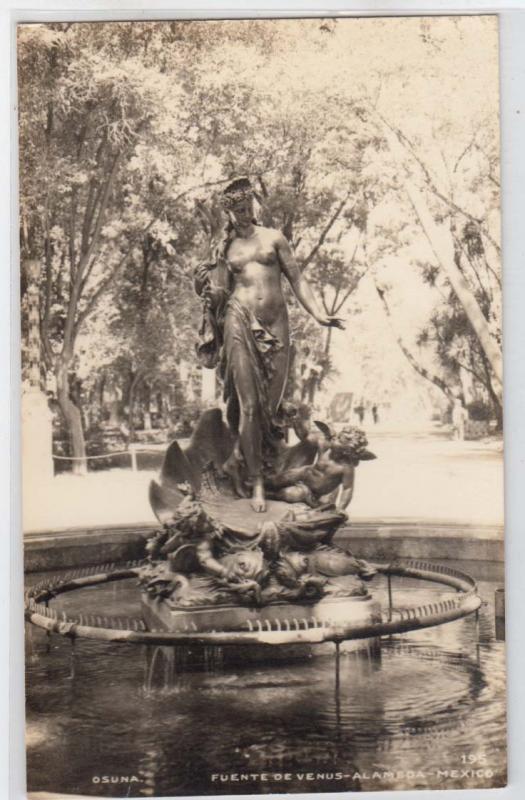 RPPC, Fuente De Venus, Alameda Mex