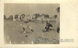 Baseball Real Photo Unused close to perfect corners, light tab marks from bei...