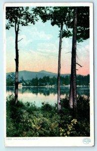 RUTLAND, Vermont VT ~ PINE HILL POND ca 1910s Detroit Phostint Postcard
