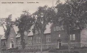 Maine Lewiston Chase Hall Bates College Albertype