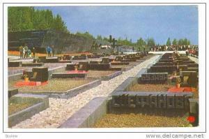 Fascism victums monument, Byelorussia, 1960s