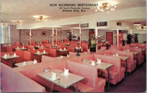 New Richmond Restaurant, Atlantic City New Jersey postcard