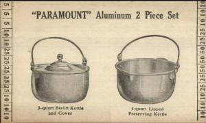 Paramount Aluminum Berlin Kettle Private Mailing Card Postcard