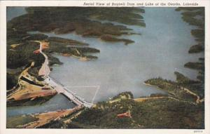 Missouri Aerial View Bagnell Dam and Lake Of The Ozarks