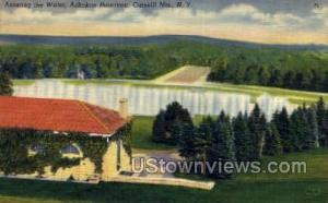 Ashokan Reservoir Catskill Mountains NY Unused
