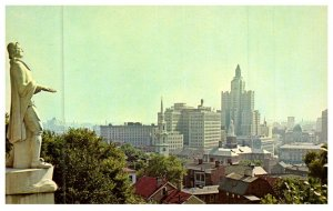 Rhode Island Providence ,  Aerial view from Prospect Terrace