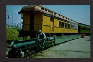 WI Narrow Gauge Railroad Train GREEN BAY WISCONSION RR