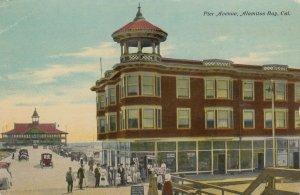 ALAMITOS BAY , California, 1900-10s ; Pier Avenue