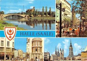 Halle Saale, Burg Giebichenstein, Markt Bruecke Bridge River Market Place
