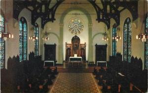 Interior of Mount Carmel College Niagara Falls Canada 1993