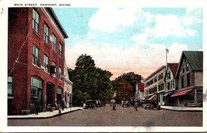 Maine Newport Main Street