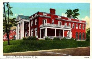 West Virginia Charleston Governor's Mansion Curteich