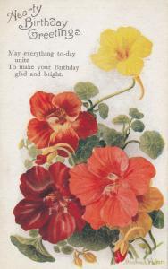 Winifred WALKER; Happy Birthday Flowers #1 , 00-10s