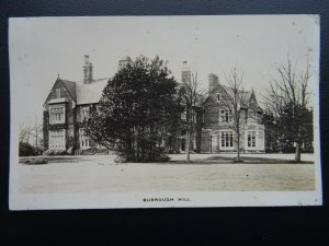 Leictershire BURROUGH HALL Burrough on the Hill - Old RP Postcard by Towne