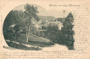 Switzerland Gruss aus dem Weissbad 02.99