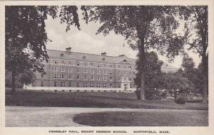 Massachusetts Northfield Mount Hermon School Crossley Hall Albertype