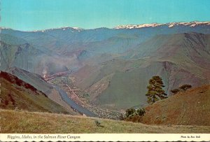 Idaho Riggins In The Salmon River Canyon