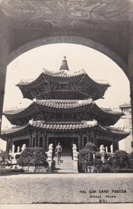 South Korea Seoul Pal Gak Dang Pagoda Real Photo