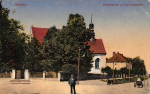 Poland Gleiwitz Gliwice Coselerstr. 1916 feldpost Postcard
