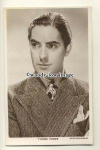 b3437 - Film Actor - Tyrone Power - postcard Picturegoer no 1215a