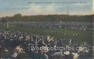 Champ de Coursees d'Auteuil, France, Carte, Postcard Vue sur la Pelouse Horse...