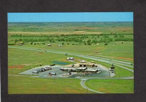 OK Simons Truck Oasis Stop Terminal Sayre Oklahoma Postcard