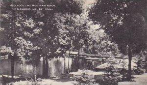 Pennsylvania Mill Rift Glenwood Lake From Main Porch The Glenwood Albertype
