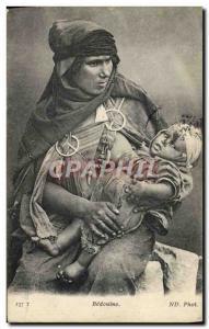 Old Postcard Eastern Beauty Bedouine Child