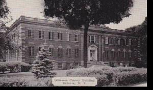 New York Batavia Genessee County Building Dexter Press Archives