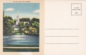 Massachusetts Cape Cod An Old Cape Cod Church