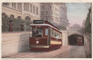 LONDON , England, 00-10s ; L.C.C. Subway Trams ; TUCK 502
