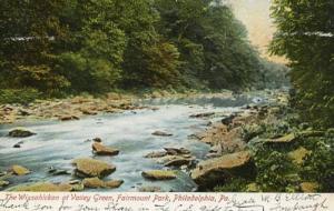 PA - Philadelphia. Fairmount Park, Wissahickon Creek at Valley Green