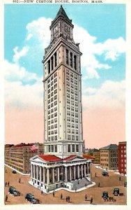 Massachusetts Boston New Custom House