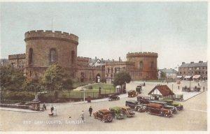 Law Courts, Classic Cars, English Street, CARLISLE, United Kingdom, 1930's