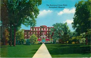 The Kentwood Arms House Springfield Missouri MO Early Chrome