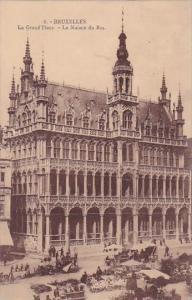 Belgium Brussel Bruxelles La Grand Place La Maison Du Roi 1923