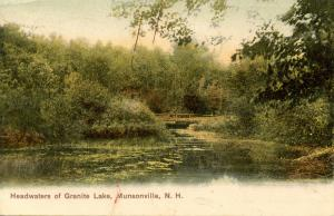NH - Munsonville. Headwaters of Granite Lake