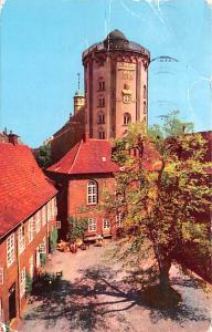 Copenhagen Denmark, Danmark View of the Round Tower form the Regens Court Cop...