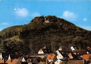 Bad Driburg Blick zum Iburgplateau mit Sachsenklause