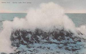 New Jersey Spring Lake Heavy Surf Albertype