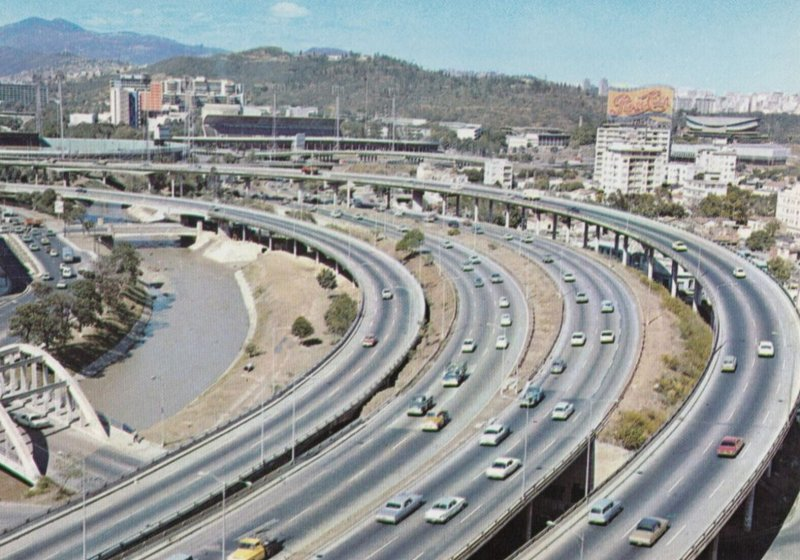 CARACAS , Venezuela , 1950-70s ; Autopista del Este
