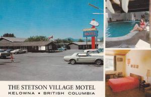 The Stetson Village Motel , KELOWNA , B.C., Canada , 40-60s