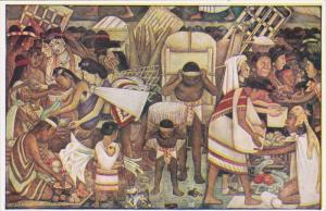 MEXICO, 1940´s; Palacio Nacional De Mexico, La Gran Tenochtitlan
