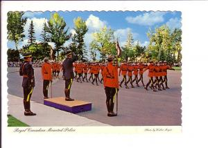 RCMP Recruit Parade, Regina, Saskatchewan, Polise