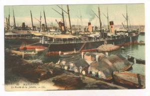 Marseille, France, 1900-10s: Le Bassin de la Joliette
