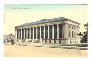 Public Library, Denver, Colorado, 1900-1910s