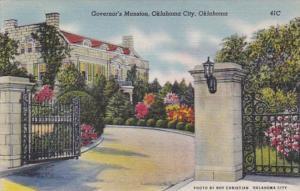 Oklahoma Oklahoma City Governor's Mansion