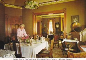 Canada Prince House Dining Room Heritage Park Calgary Alberta