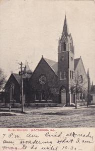 M.E. Church , WAYCROSS , Georgia , PU-1908